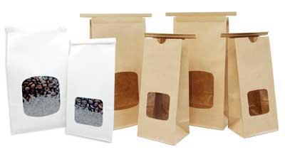 Paper Bags with Window